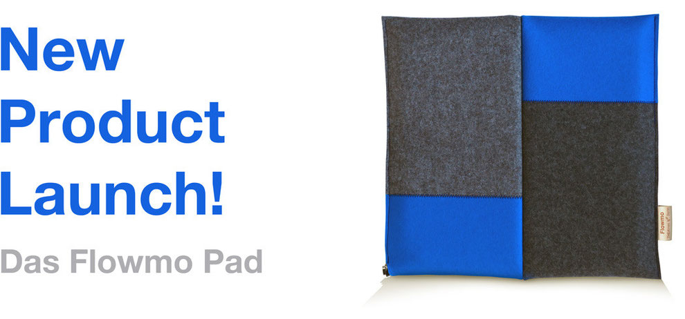 Ergonomisches Sitzkissen Bürostuhl Pad: FLOWMO - New Product Launch.