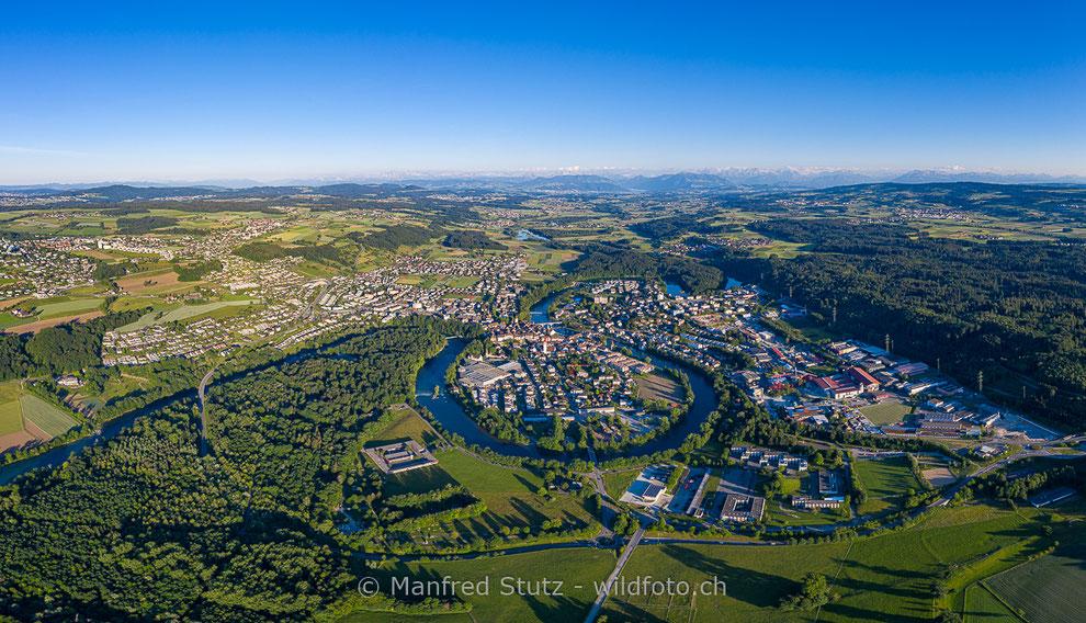 Stadt Baden und Obersiggenthal an der Limmat, Kanton Aargau