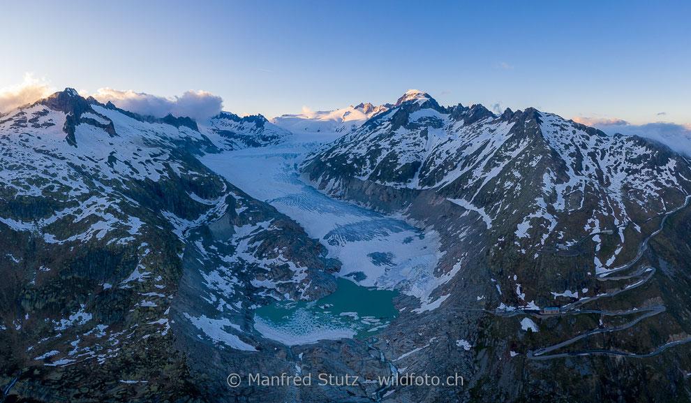 Klöntalersee im Herbstkleid, Klöntal, Kanton Glarus