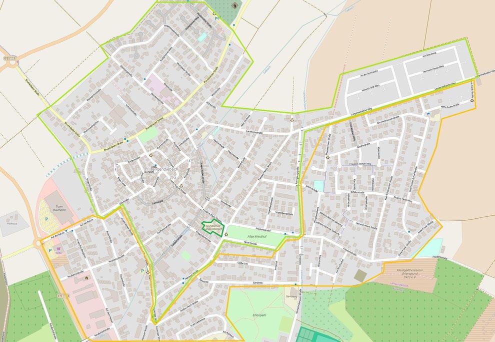 Überschneidungsgebiet der GSL