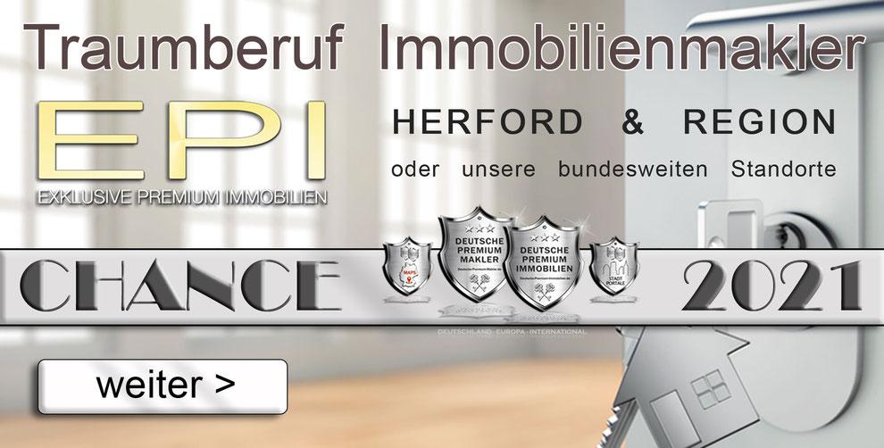 STELLENANGEBOTE HERFORD IMMOBILIENMAKLER MAKLER JOBANGEBOTE FESTANSTELLUNG   IMMOBILIEN FRANCHISE MAKLER FRANCHISING