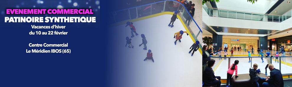 patinoire centre commercial évènementiel