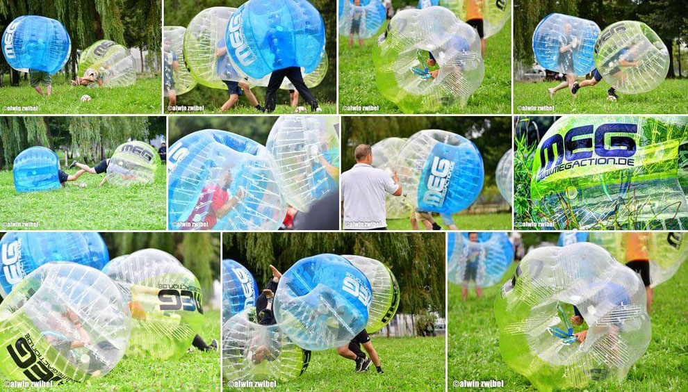 MEG Bubble Soccer mieten - WakeCity Memmingen