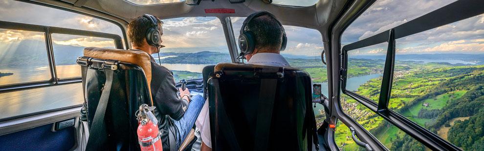 Kunden Berichten von Ihrem Hubschrauberflug