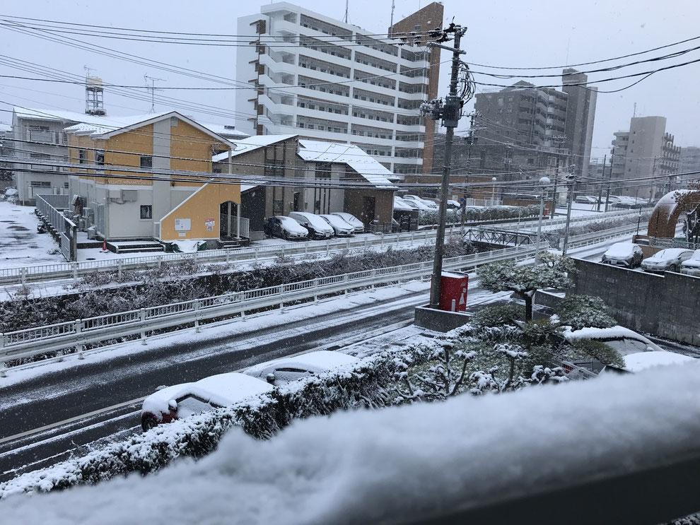 雪のメゾンブランシュ