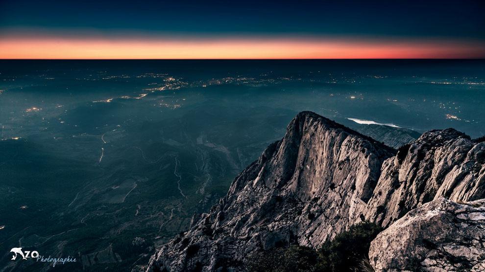 Coucher de Soleil depuis la Croix de la Sainte Victoire - Aix en provence - Enzo Fotographia - Enzo Photographie