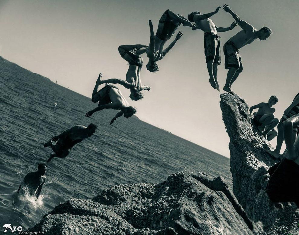 Un saut volé - sanary sur mer - Var