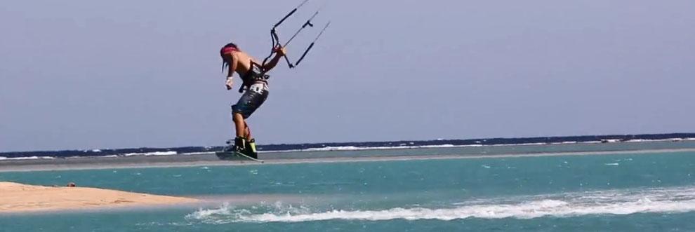 Kitesurfen in Marsa Alam / Egypt