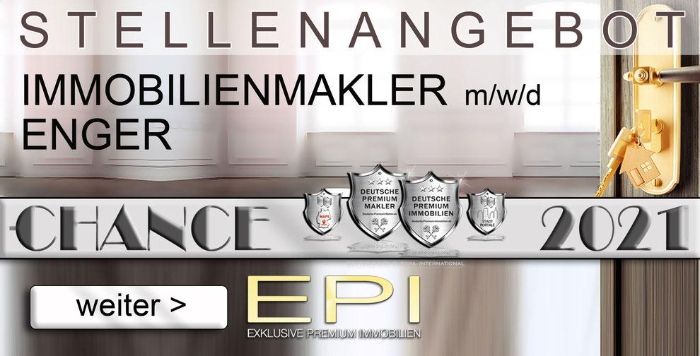 S-OWL-035 ENGER STELLENANGEBOTE IMMOBILIENMAKLER FESTANSTELLUNG MAKLER