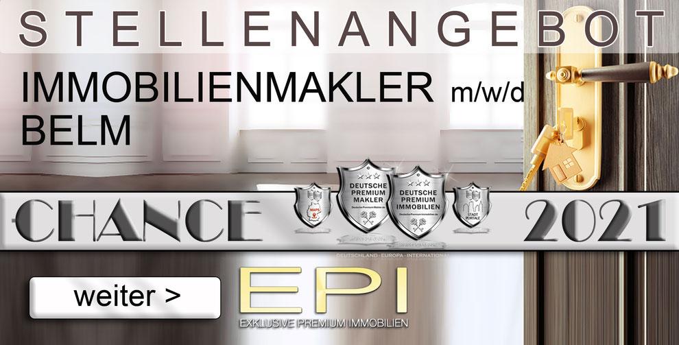 S-OWL-022 BELM STELLENANGEBOTE IMMOBILIENMAKLER FESTANSTELLUNG MAKLER
