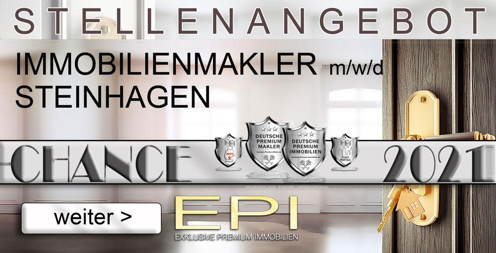 S-OWL-079 STEINHAGEN STELLENANGEBOTE IMMOBILIENMAKLER FESTANSTELLUNG MAKLER