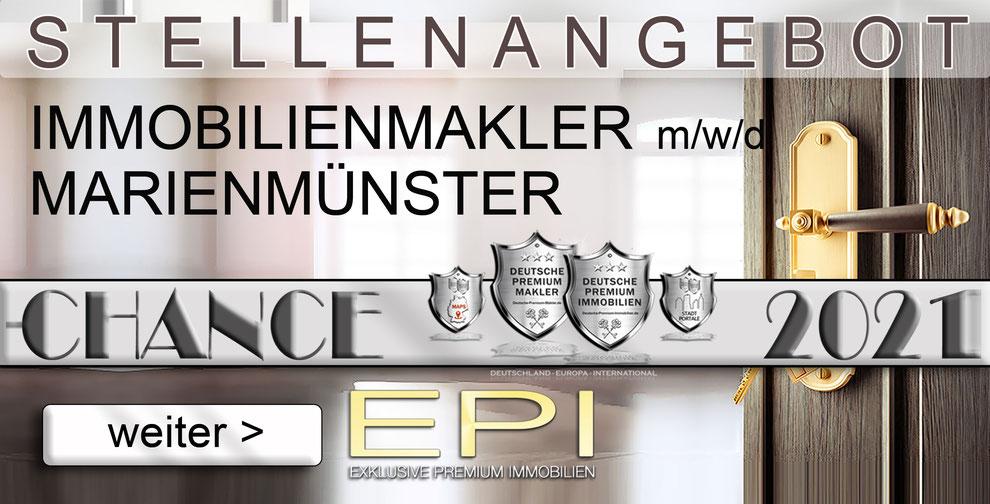 S-OWL-059 MARIENMÜNSTER STELLENANGEBOTE IMMOBILIENMAKLER FESTANSTELLUNG MAKLER