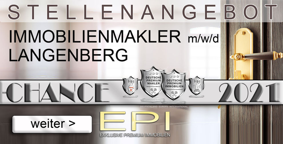 S-OWL-052 LANGENBERG STELLENANGEBOTE IMMOBILIENMAKLER FESTANSTELLUNG MAKLER