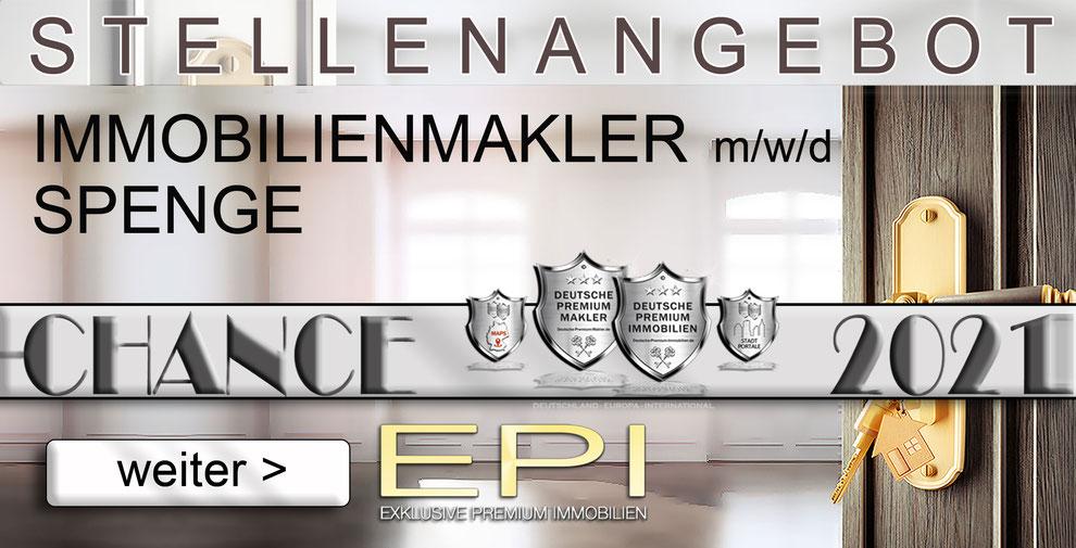 S-OWL-078 SPENGE STELLENANGEBOTE IMMOBILIENMAKLER FESTANSTELLUNG MAKLER