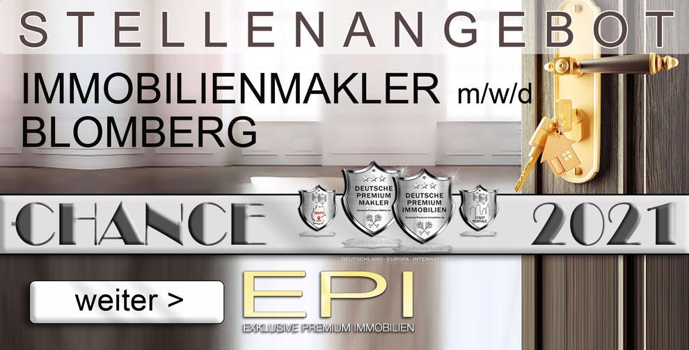 S-OWL-025 BLOMBERG STELLENANGEBOTE IMMOBILIENMAKLER FESTANSTELLUNG MAKLER