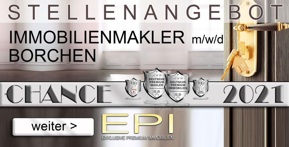 S-OWL-027 BORCHEN STELLENANGEBOTE IMMOBILIENMAKLER FESTANSTELLUNG MAKLER