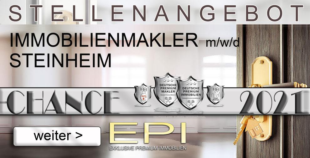 S-OWL-080 STEINHEIM STELLENANGEBOTE IMMOBILIENMAKLER FESTANSTELLUNG MAKLER