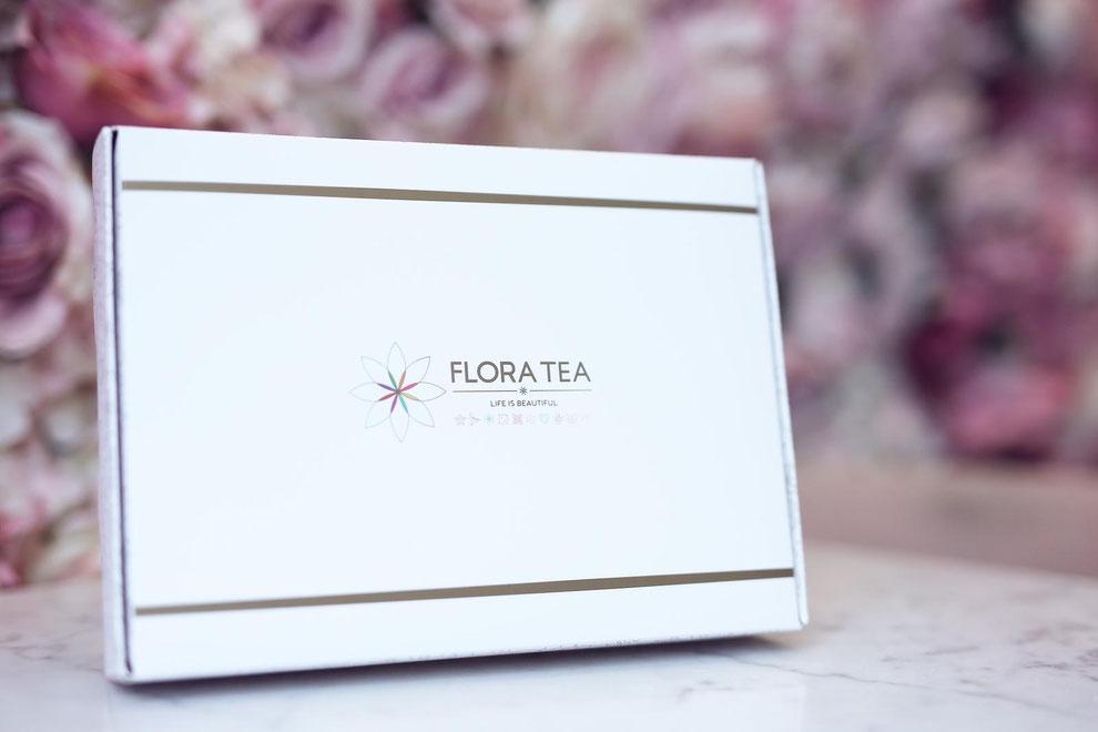 le coffret royal assortiment 10 fleurs de thé