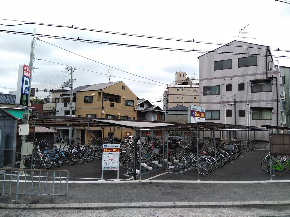 萱島駐輪場