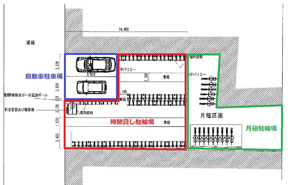 千林大宮駐輪場
