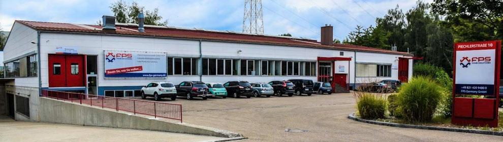 Aluminiumprofile von FPS mit Firmengebäude