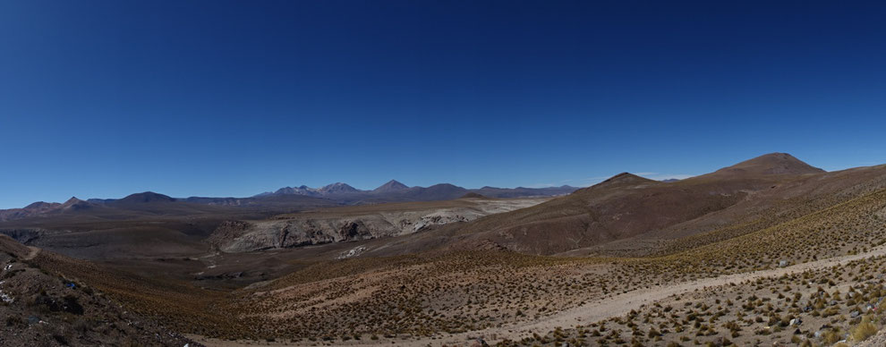 Panorama Route pass colchane-pisiga