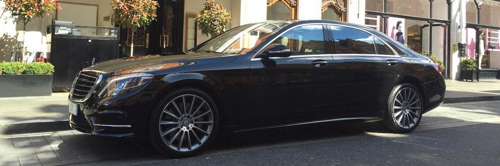 Chauffeur, VIP Driver and Limousine Service Sankt Moritz