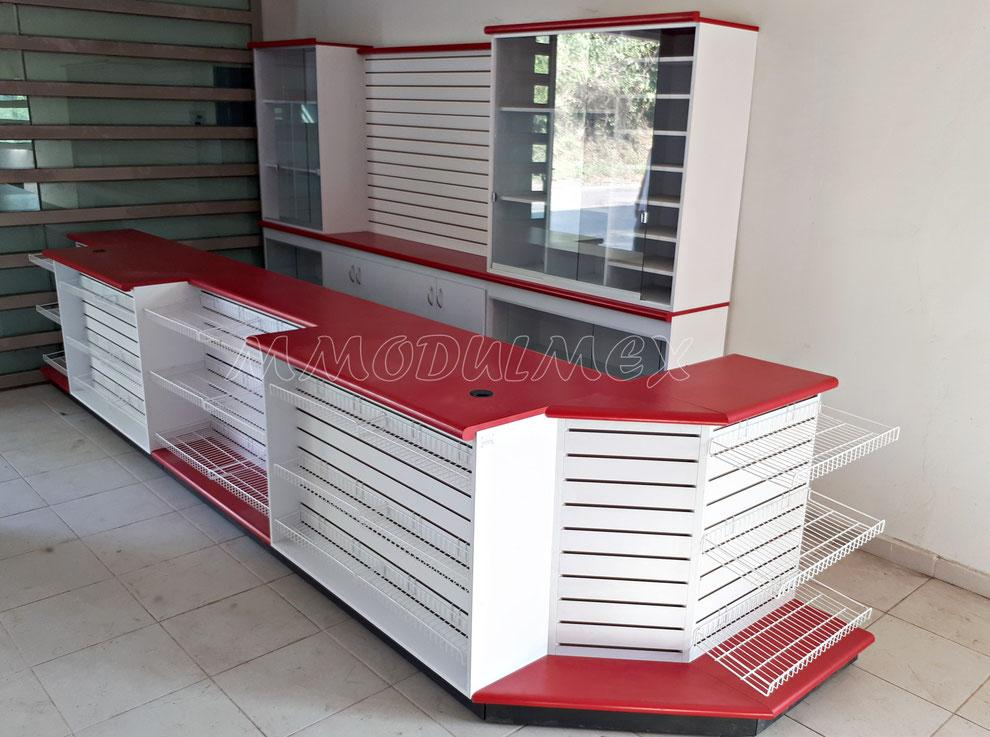Muebles para tiendas, mostradores para tiendas, anaqueles para tiendas, góndolas para tiendas, vitrinas para tiendas