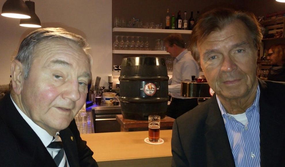 Die Ehrenvorsitzenden Jolo Schmitz (links im Bild) und Udo Wackernagel