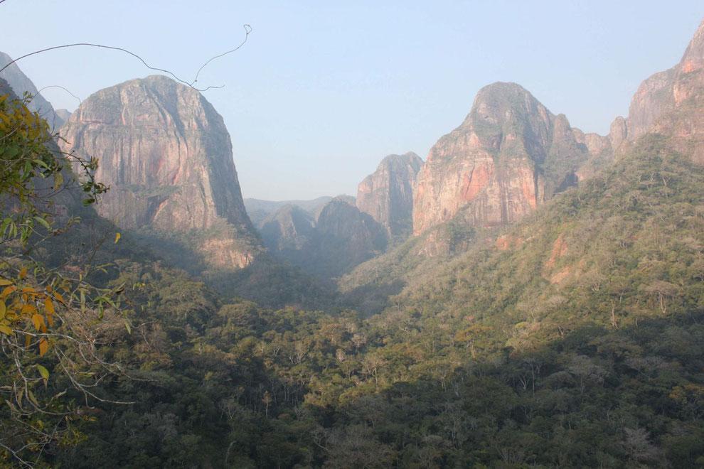 BOLIVIENline organisiert Besuche des Amboro Nationalparks