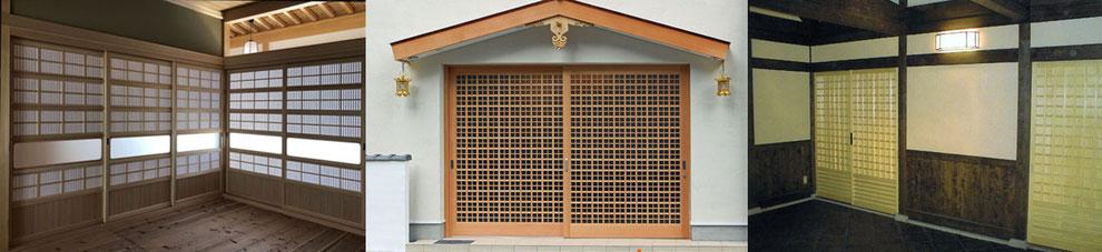 寺院・神社の建具の写真