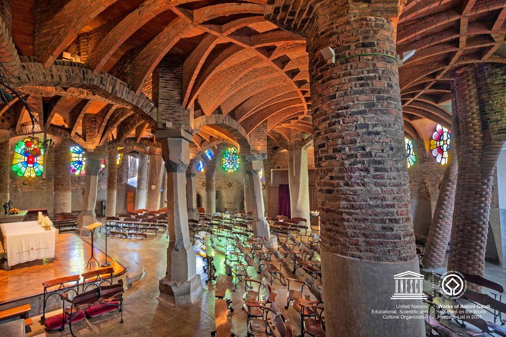 Cripta Gaudí de la Colonia Güell