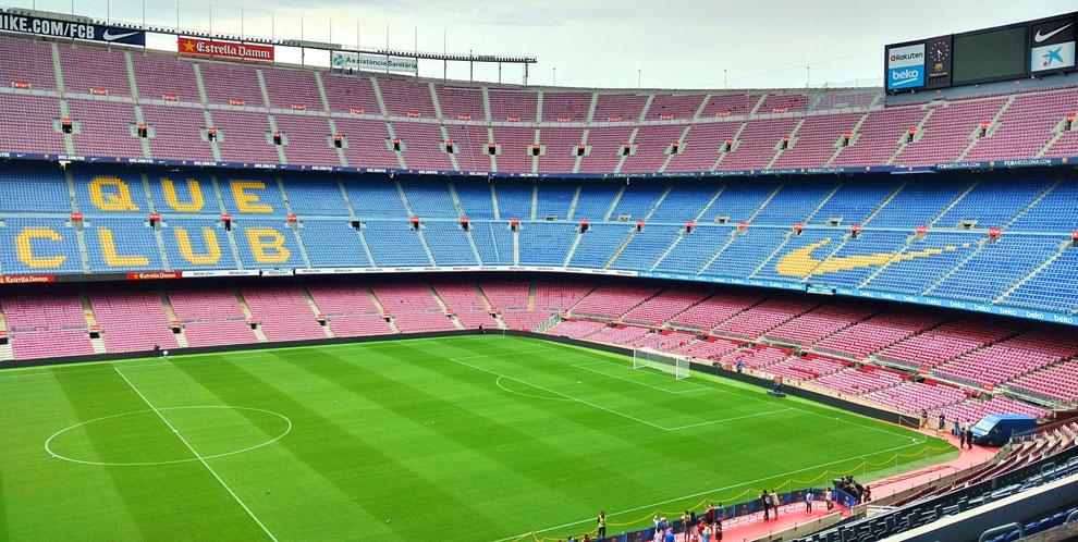 Camp Nou Experience. FC Barcelona Stadium