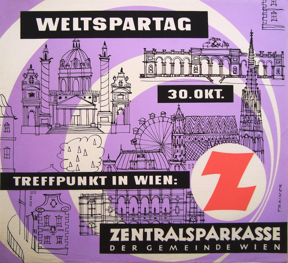 Vintage Plakat Poster kaufen Wien Vienna