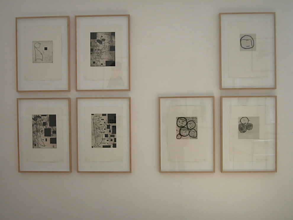Donald Baechler art prints exhibition shop