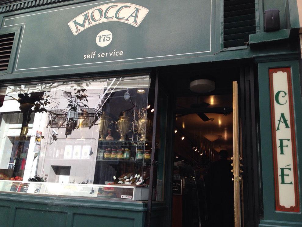 Café Mocca, 175 Maiden Ln SF