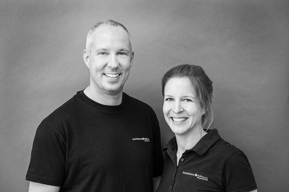 Geschäftsführer Isabelle Goldmann & Philipp Hoffmann