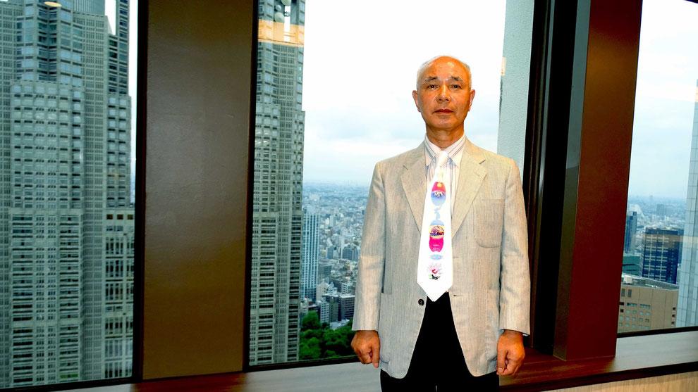中国、韓国、日本の和合と親善  国際美術評論家     柴田先生