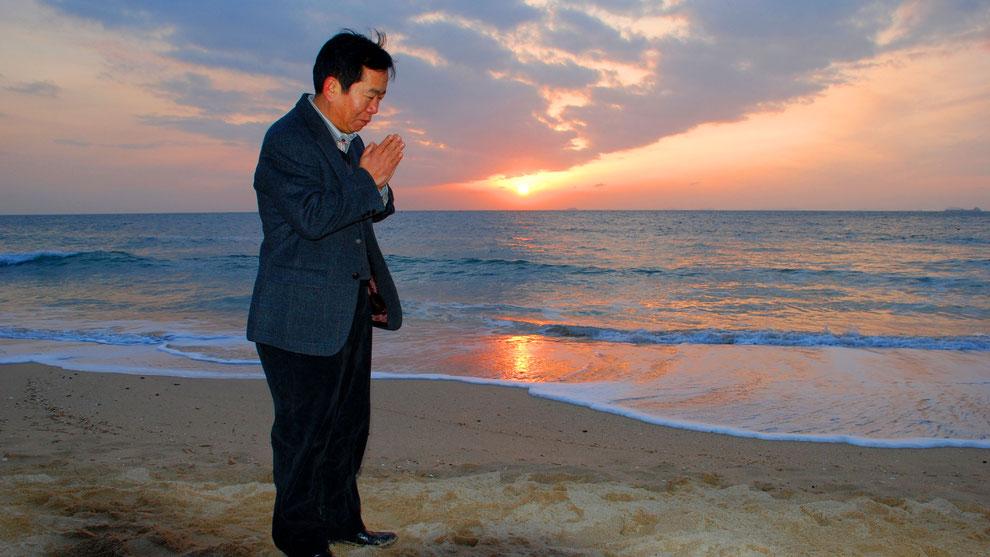 13  .   한국의 화합과 참평화 통일을 기원합니다