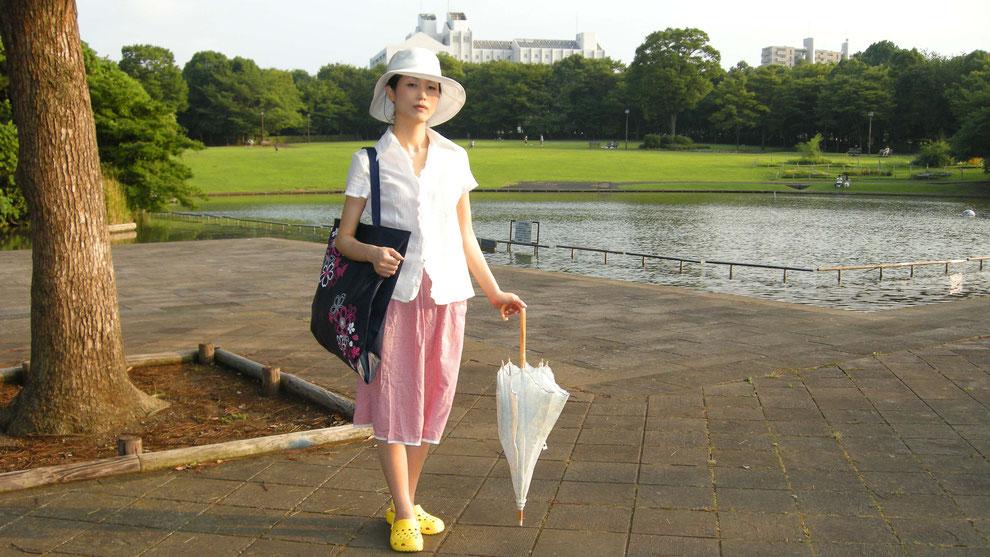 東京都 多摩市 多摩センター の     パルテノン中央公園       芸術家  キム  ミン ジョン  画伯