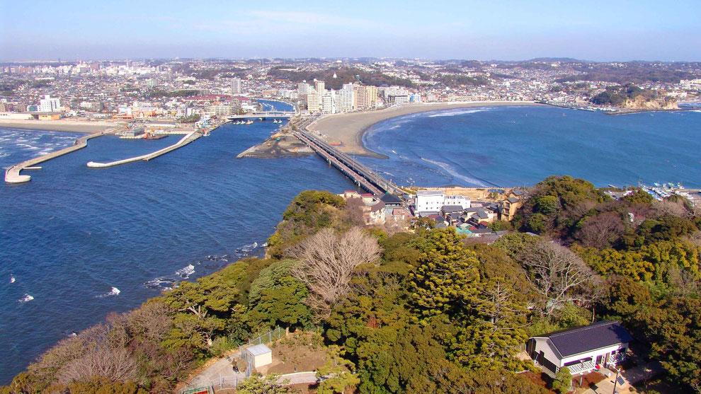 日本  神奈川  三浦半島 鎌倉 江ノ島 風景