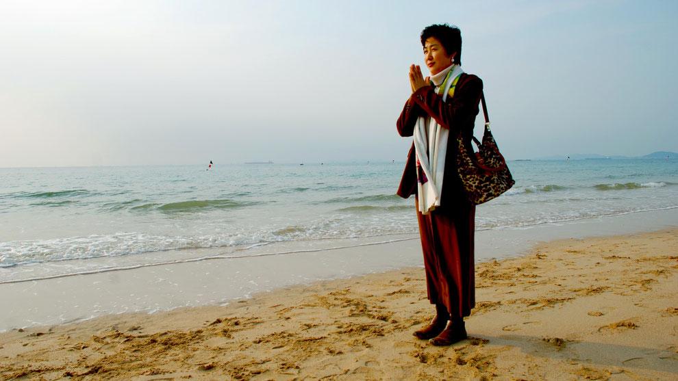 14  .   한국의 화합과 참평화 통일을 기원합니다