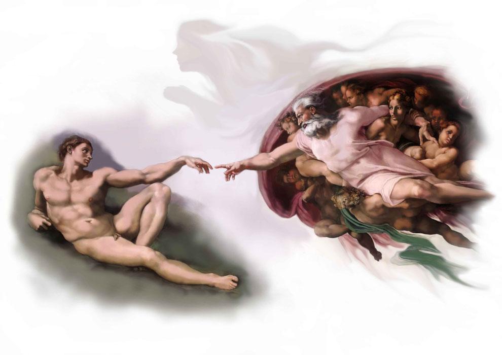 인류최초의 아담창조