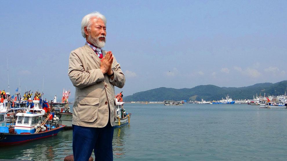 5  .   韓国の和合と真の平和統一を願っています  .    TRUST MUSEUM  참사랑 세계 평화통일 운동가   기태엽 선생