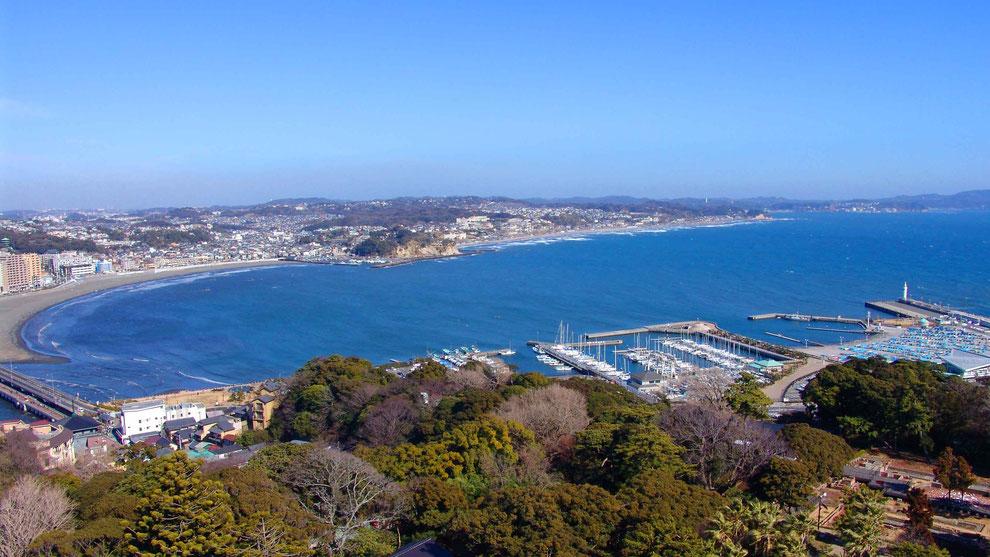 1  .  日本  神奈川  三浦半島 鎌倉 江ノ島 風景