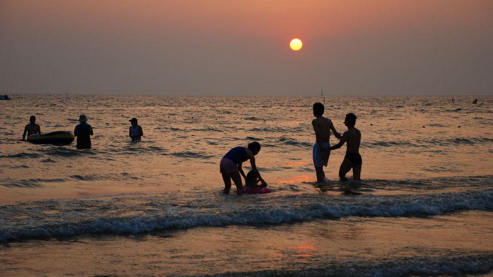 9  .   KOREA  DAE CHEON  한국 충청도 대천 해수욕장