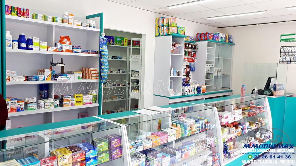 Mostrador para farmacia