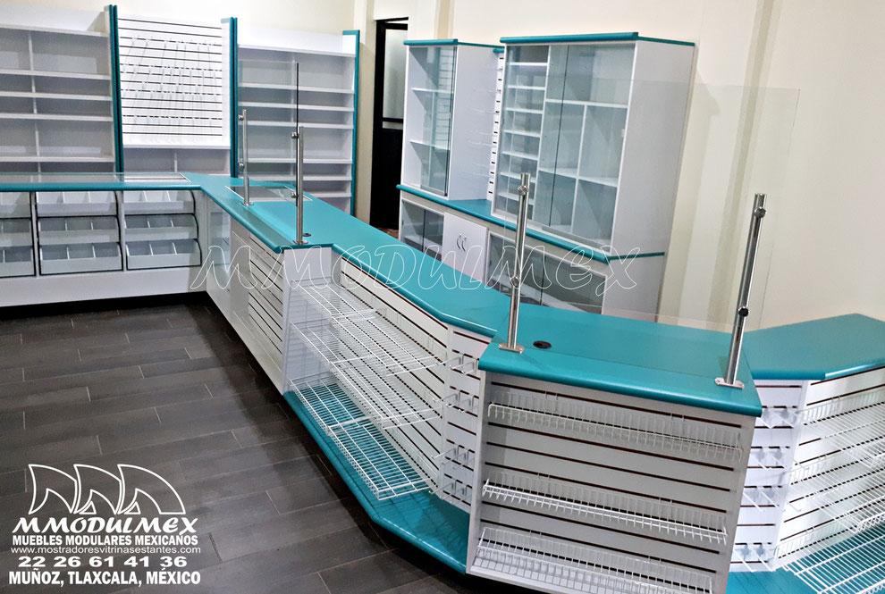 Muebles de tiendas, mostradores para tiendas, vitrinas para tiendas