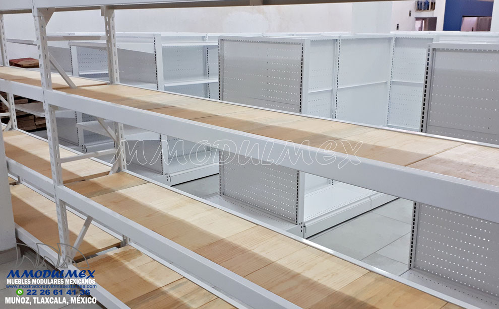Rack de carga semipesada, estantería metálica
