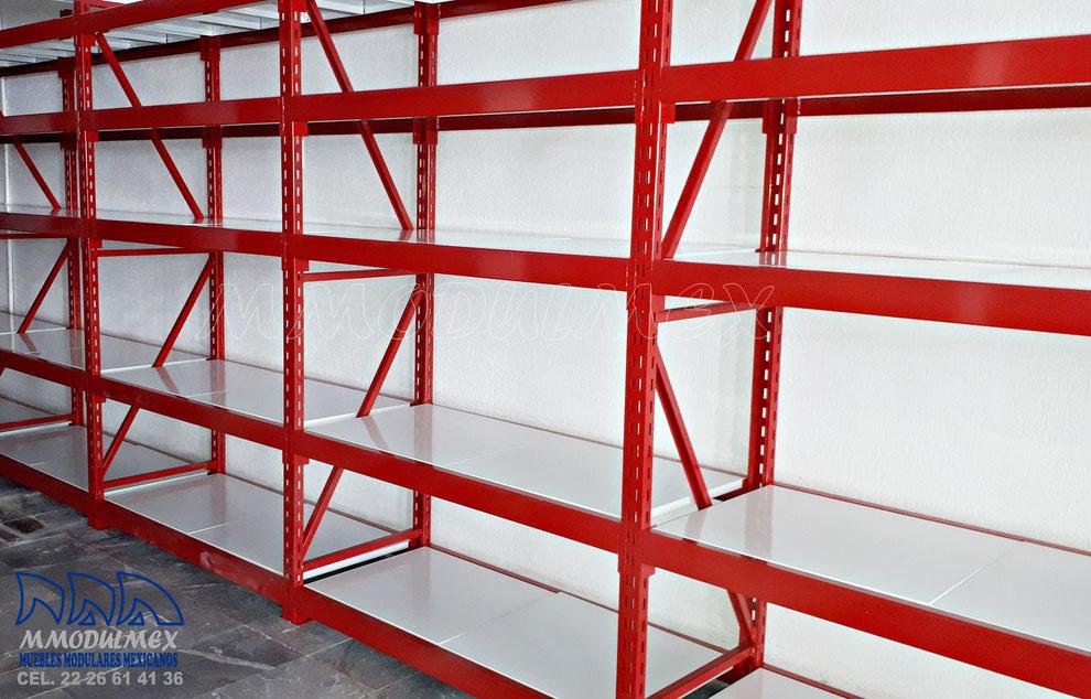 Rack de carga semipesada, rack de carga industrial, racks para almacenaje